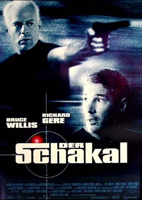 Der Schakal : Kinoposter