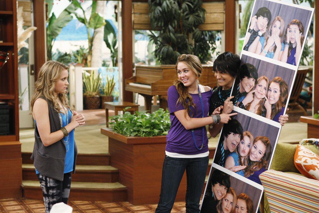 Hannah Montana : Bild Emily Osment, Miley Cyrus, Mitchel Musso