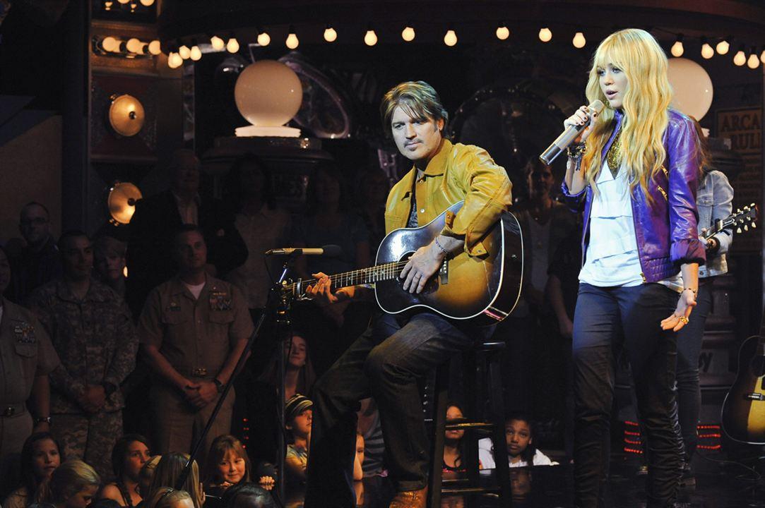 Hannah Montana : Bild Billy Ray Cyrus, Miley Cyrus