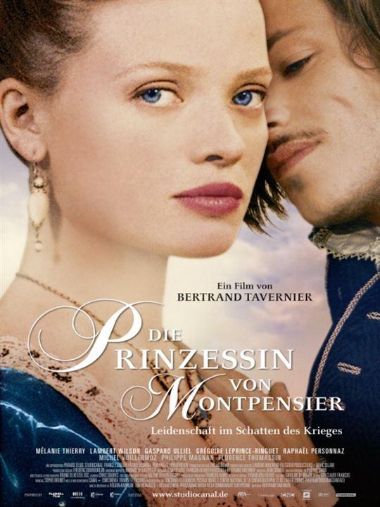 Die Prinzessin von Montpensier : Kinoposter