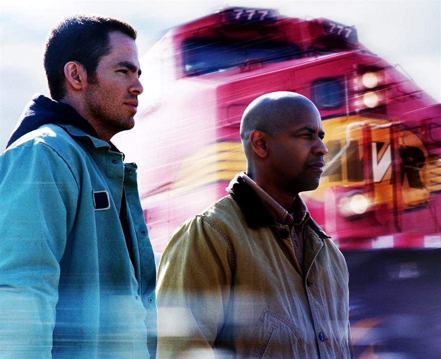 Unstoppable - Außer Kontrolle : Bild Chris Pine, Denzel Washington