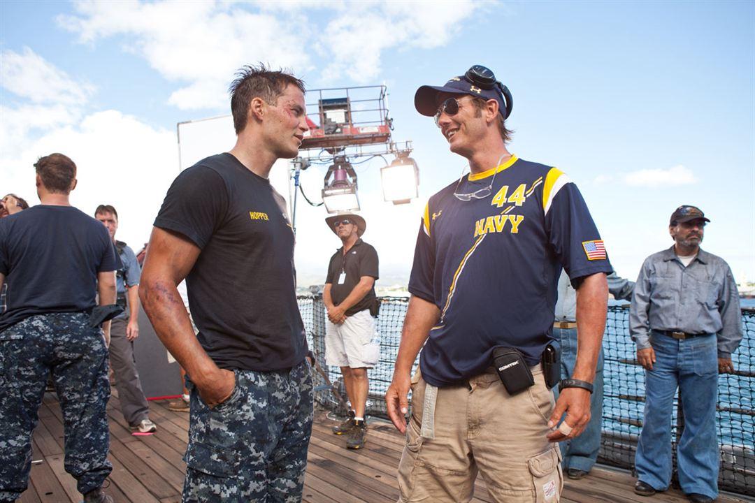 Battleship : Bild Peter Berg, Taylor Kitsch