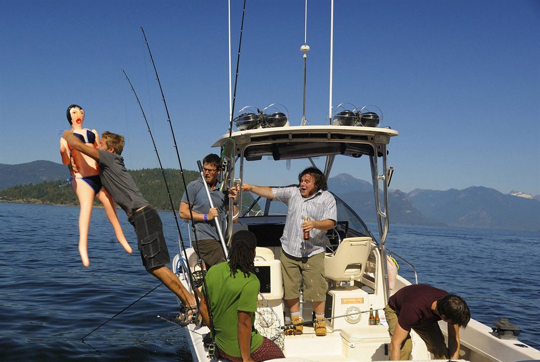 Harper's Island : Bild Brandon Jay McLaren, Chris Gauthier, Christopher Gorham, Matt Barr, Sean Rogerson