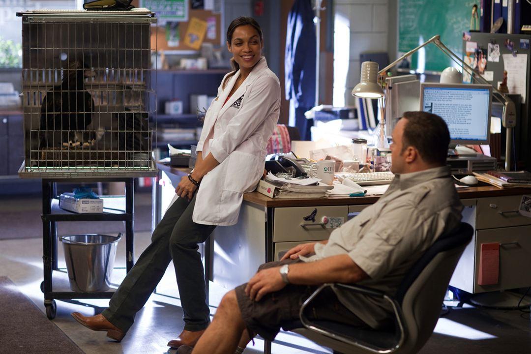 Der Zoowärter : Bild Frank Coraci, Kevin James, Rosario Dawson
