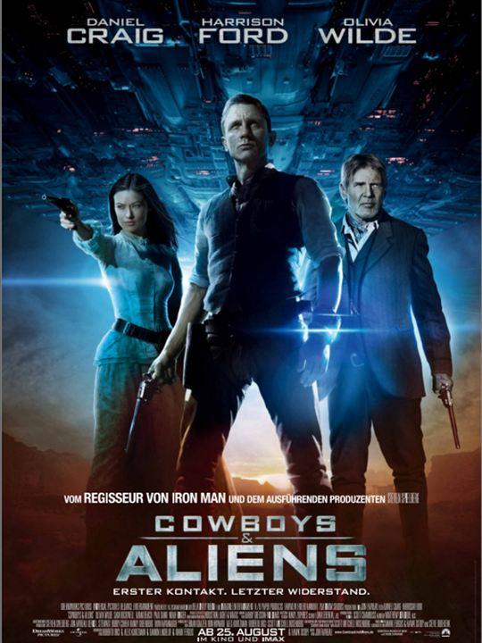 Cowboys & Aliens : Kinoposter