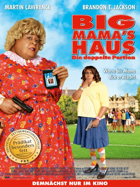 Big Mama's Haus - Die doppelte Portion : Kinoposter