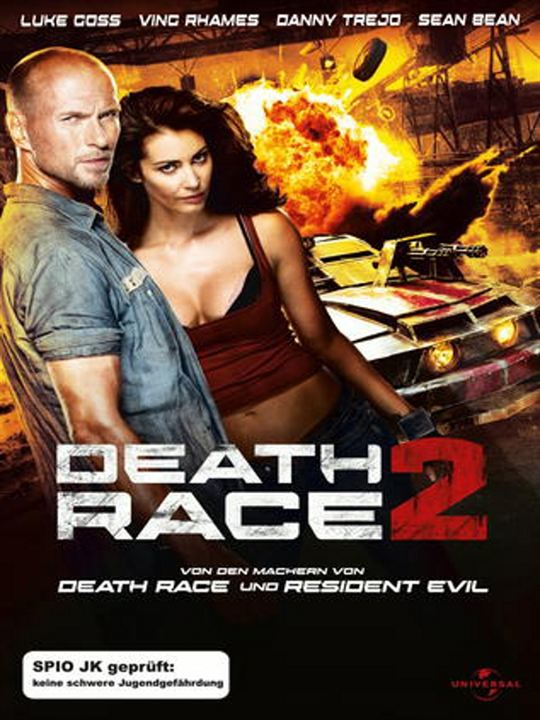 Death Race 2 : Kinoposter