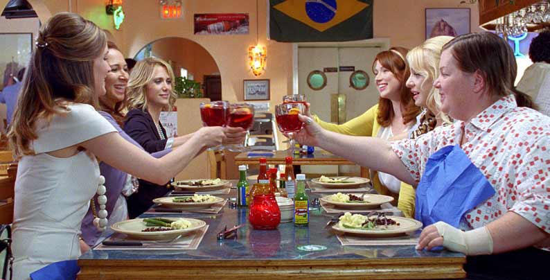 Brautalarm : Bild Ellie Kemper, Kristen Wiig, Maya Rudolph, Melissa McCarthy, Rose Byrne