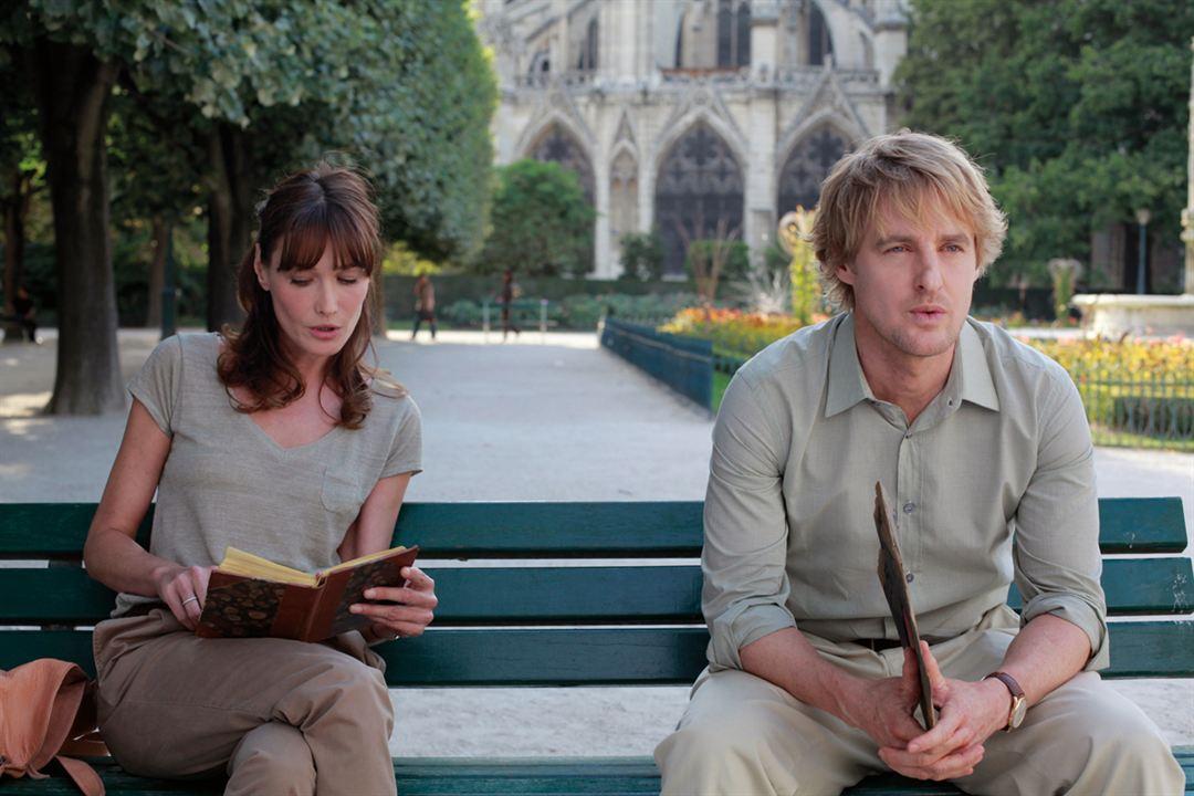 Midnight In Paris : Bild Carla Bruni, Owen Wilson, Woody Allen