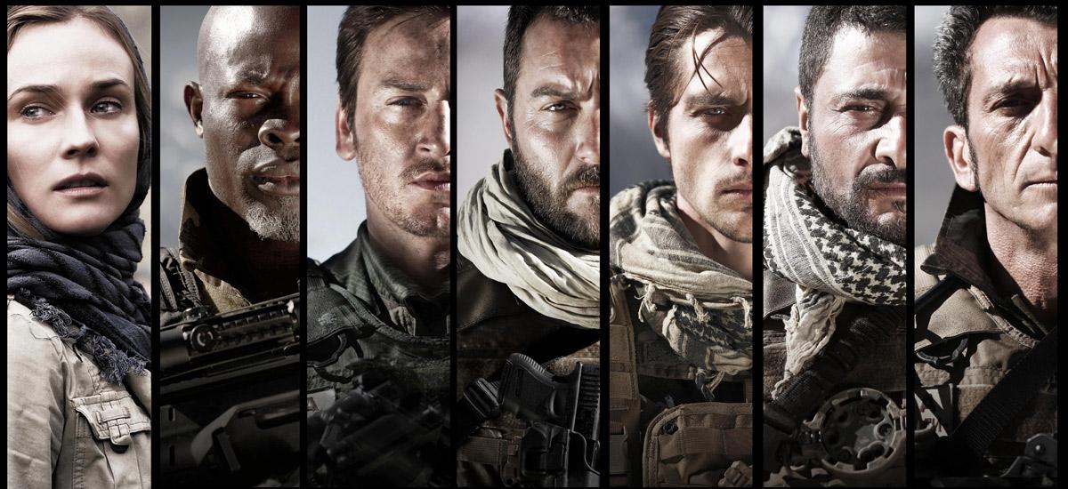 Special Forces : Bild Alain Figlarz, Benoît Magimel, Denis Ménochet, Diane Kruger, Djimon Hounsou