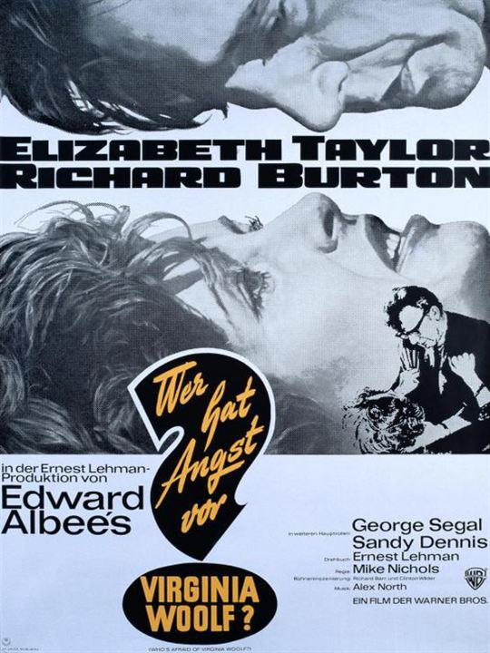 Wer hat Angst vor Virginia Woolf? : Kinoposter