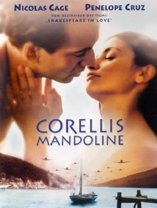 Corellis Mandoline : Kinoposter