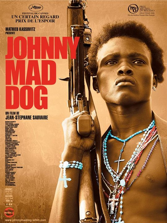 Johnny Mad Dog : poster
