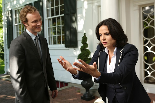 Bild David Anders, Lana Parrilla