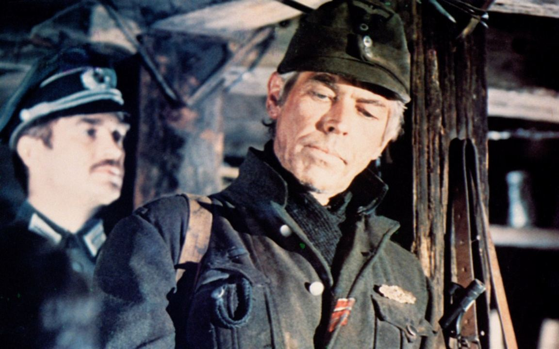 Steiner - Das Eiserne Kreuz : Bild James Coburn, Sam Peckinpah