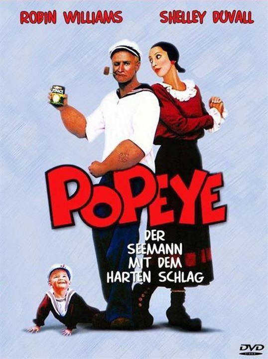 Popeye, der Seemann mit dem harten Schlag : Kinoposter
