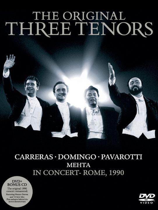 The Original Three Tenors Concert : poster