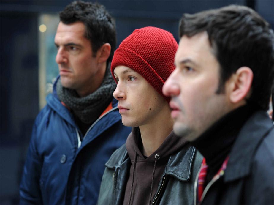 Le Chant des sirènes : Bild Arnaud Ducret, Cyril Descours, Eric Caravaca