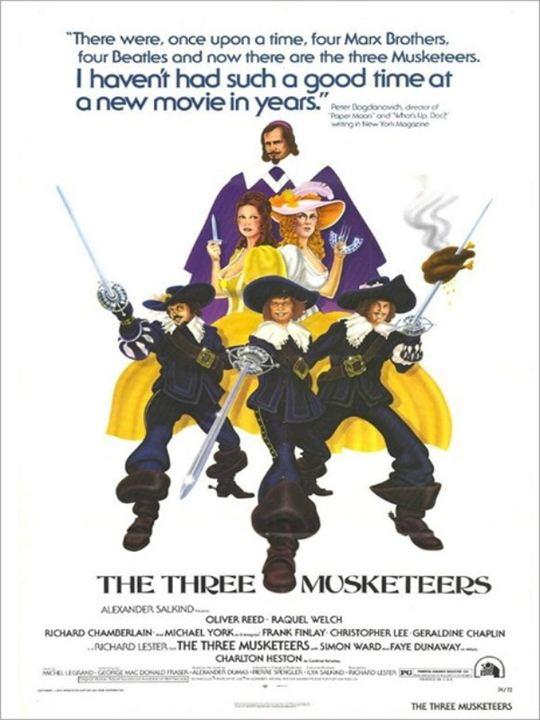 Die drei Musketiere : Kinoposter