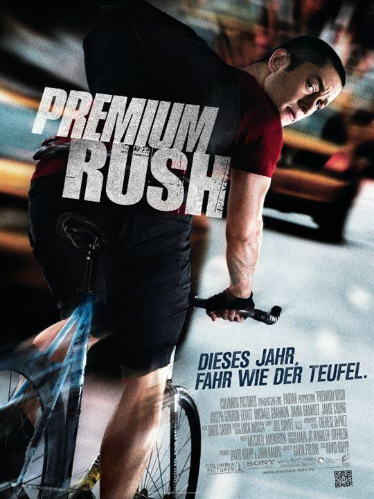 Premium Rush : Kinoposter