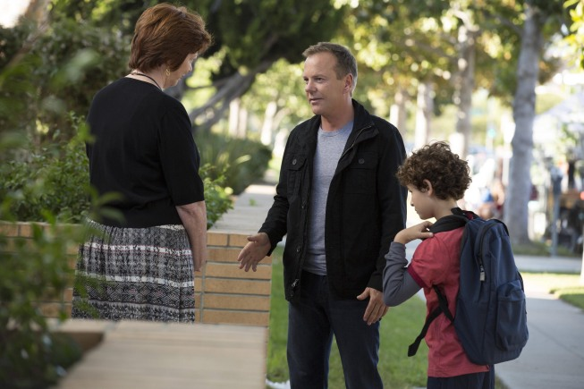Bild David Mazouz, Kiefer Sutherland, Patricia Bethune