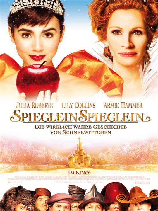Spieglein Spieglein - Die wirklich wahre Geschichte von Schneewittchen : Kinoposter