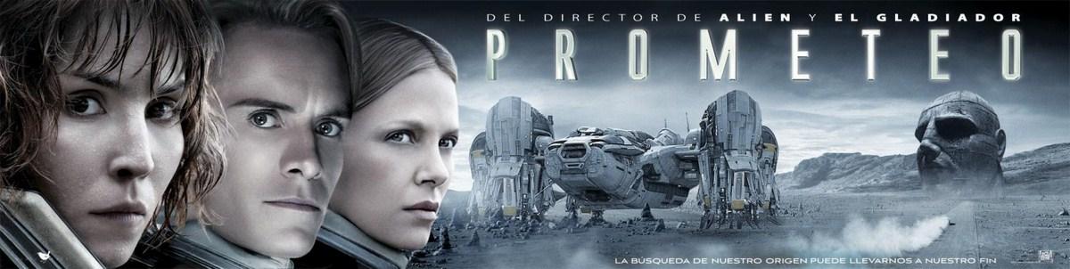 Prometheus - Dunkle Zeichen : Kinoposter