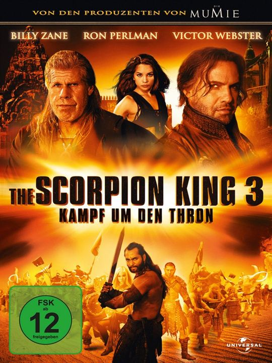 The Scorpion King 3 - Kampf um den Thron : Kinoposter