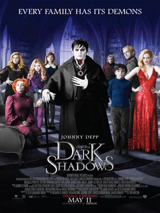 Dark Shadows : Kinoposter