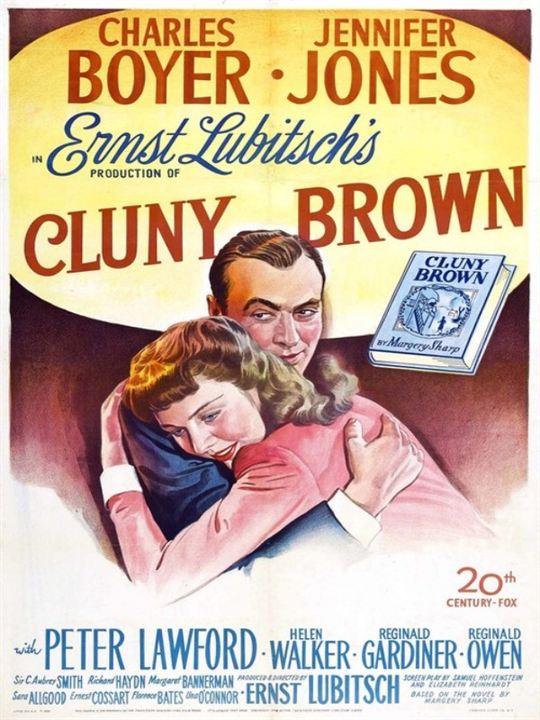 Cluny Brown auf Freiersfüßen : Kinoposter