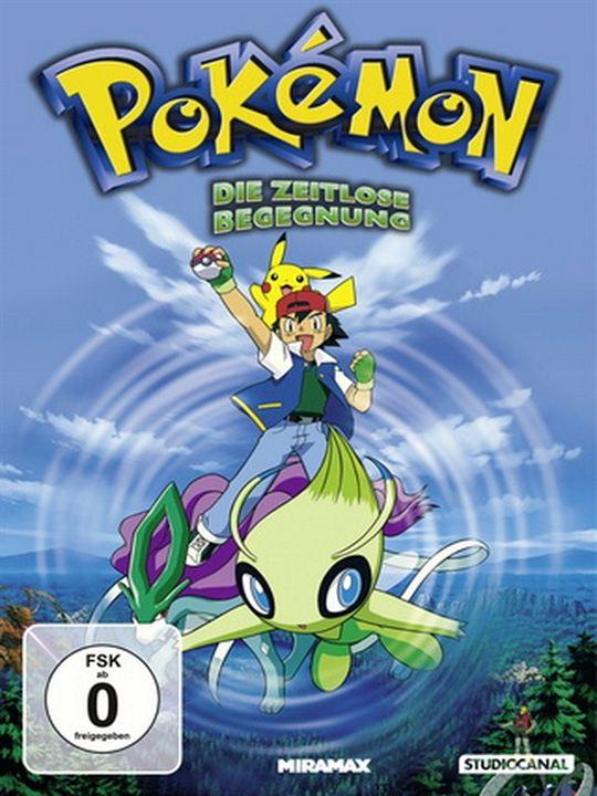 Pokémon 4 - Die zeitlose Begegnung : Kinoposter