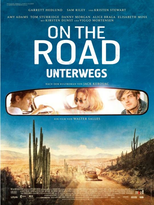 On the Road - Unterwegs : poster