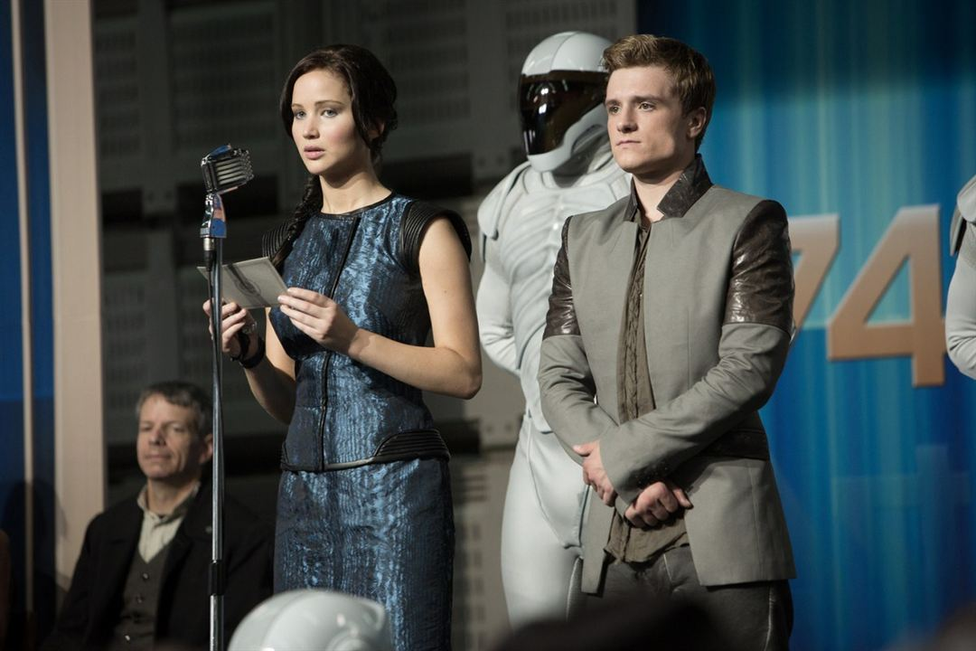 Die Tribute von Panem 2 - Catching Fire : Bild Jennifer Lawrence, Josh Hutcherson