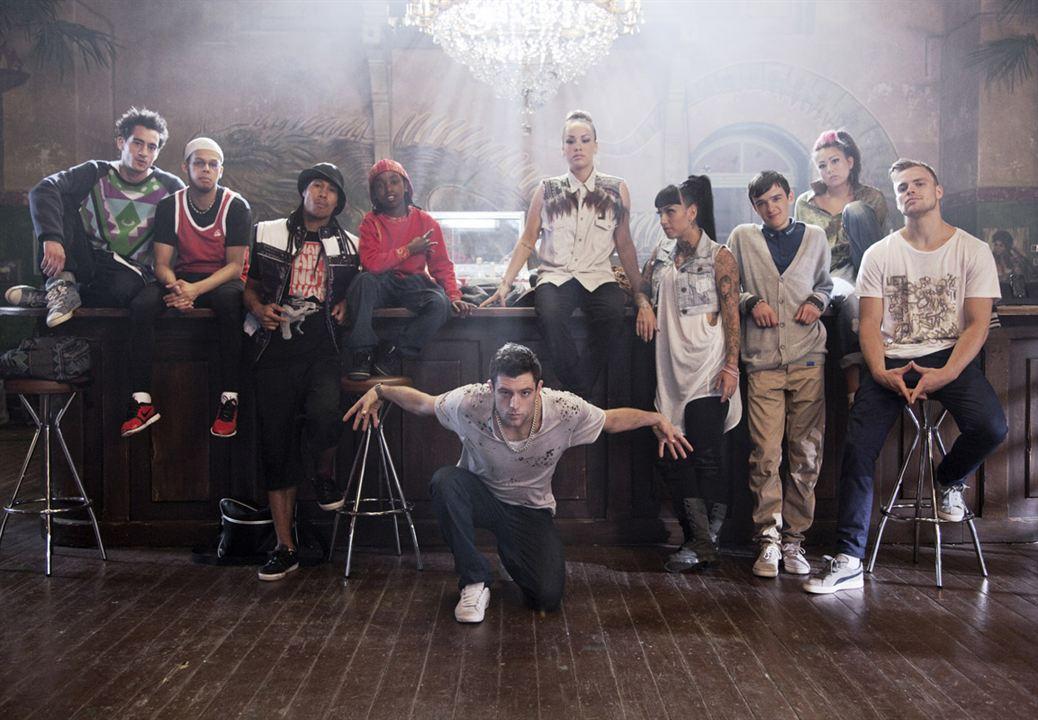 "StreetDance 2 : Bild Brice Larrieu ""Skorpion"", Dania Pasquini, Max Giwa"