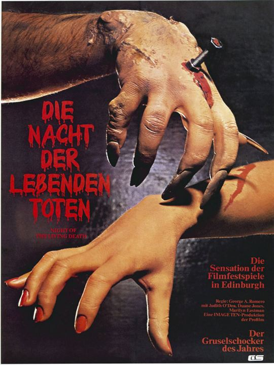 Die Nacht der lebenden Toten : Kinoposter