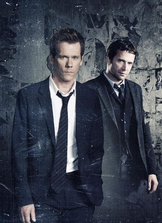 The Following : Bild James Purefoy, Kevin Bacon