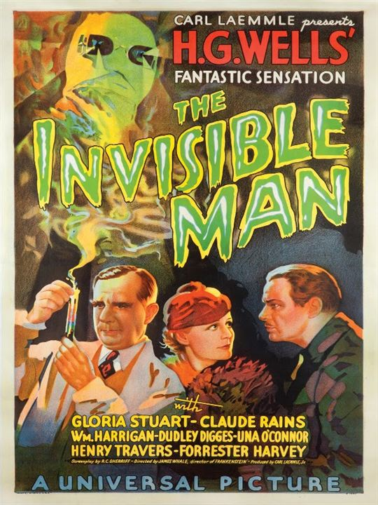Der Unsichtbare : Kinoposter