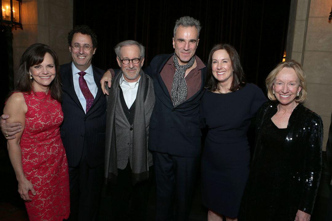 Lincoln : Vignette (magazine) Daniel Day-Lewis, Kathleen Kennedy, Sally Field, Steven Spielberg