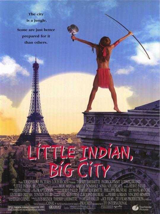 Little Indian - Der Großstadtindianer : Kinoposter