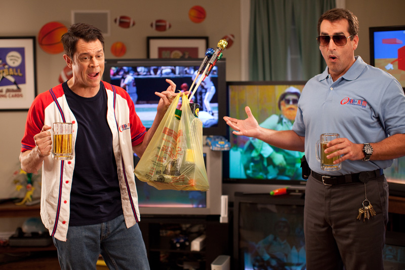 Die Natur ruft! : Bild Johnny Knoxville, Rob Riggle