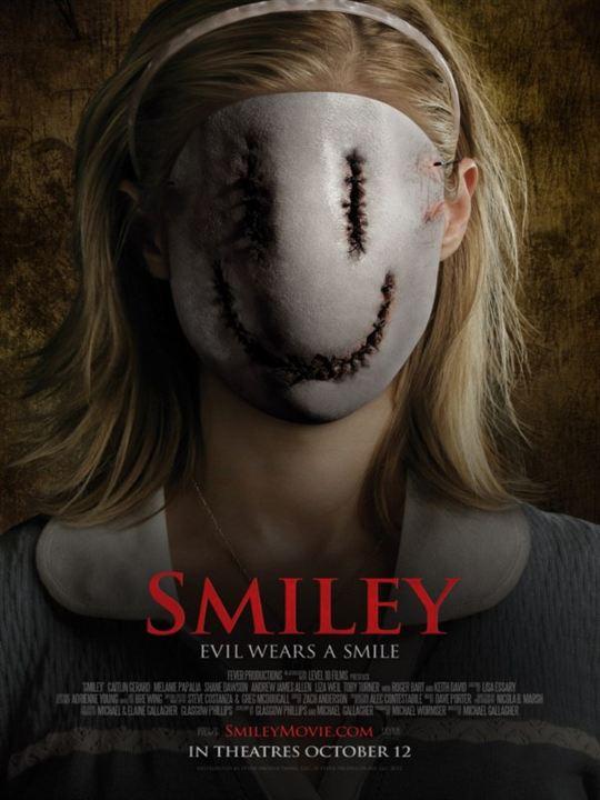 Smiley Das Grauen Trägt Ein Lächeln
