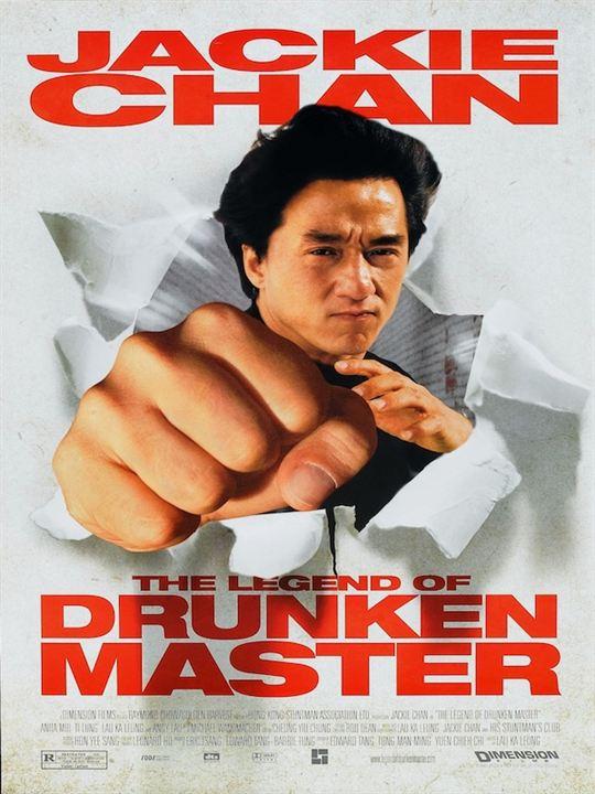 Drunken Master : Kinoposter