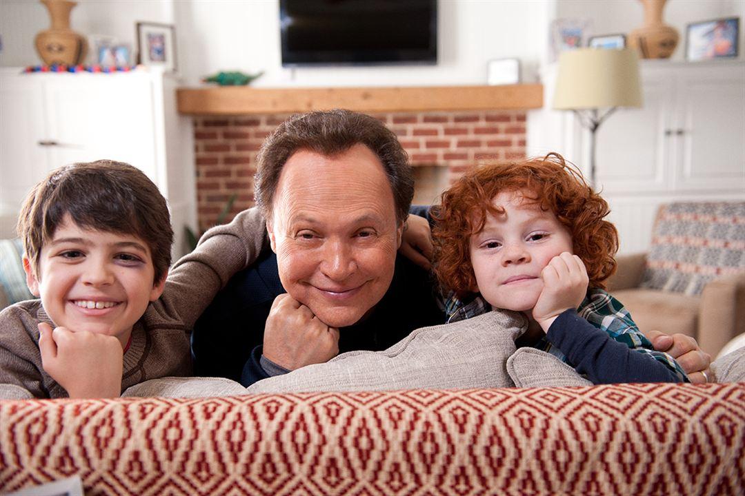 Die Bestimmer - Kinder haften für ihre Eltern : Bild Billy Crystal, Joshua Rush, Kyle Harrison Breitkopf