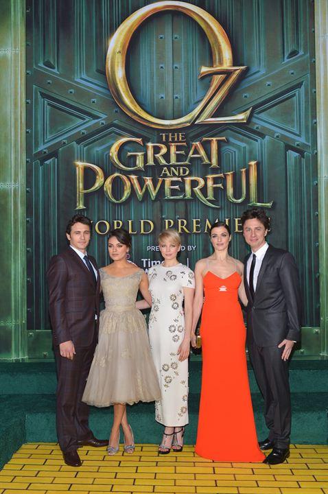 Die fantastische Welt von Oz : Vignette (magazine) James Franco, Michelle Williams, Mila Kunis, Rachel Weisz, Zach Braff