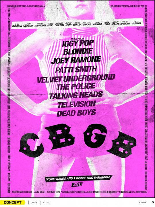 CBGB : Kinoposter