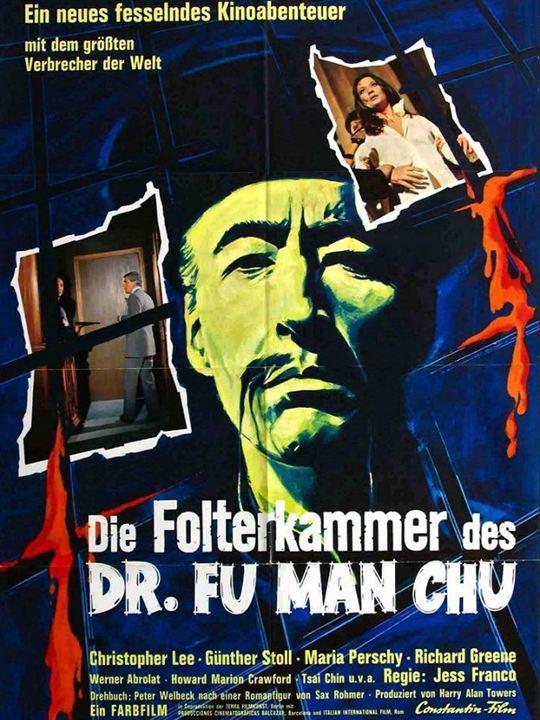 Die Folterkammer des Dr. Fu Man Chu : Kinoposter