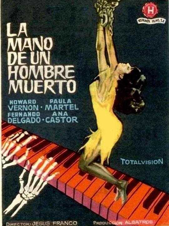 La mano de un hombre muerto : poster