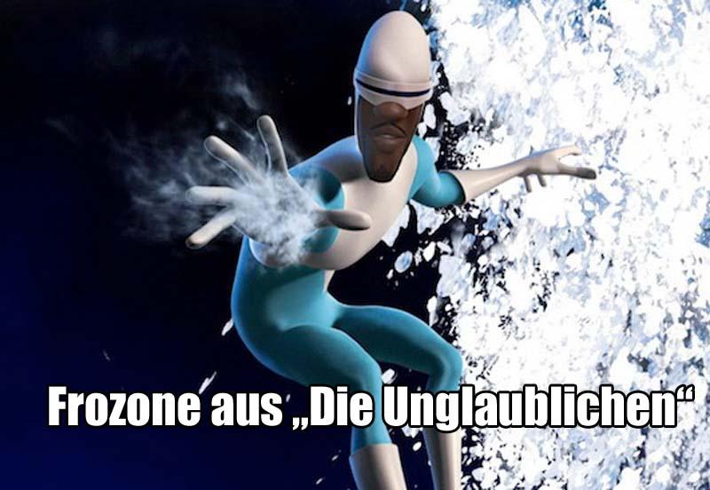 """Frozone aus """"Die Unglaublichen"""""""