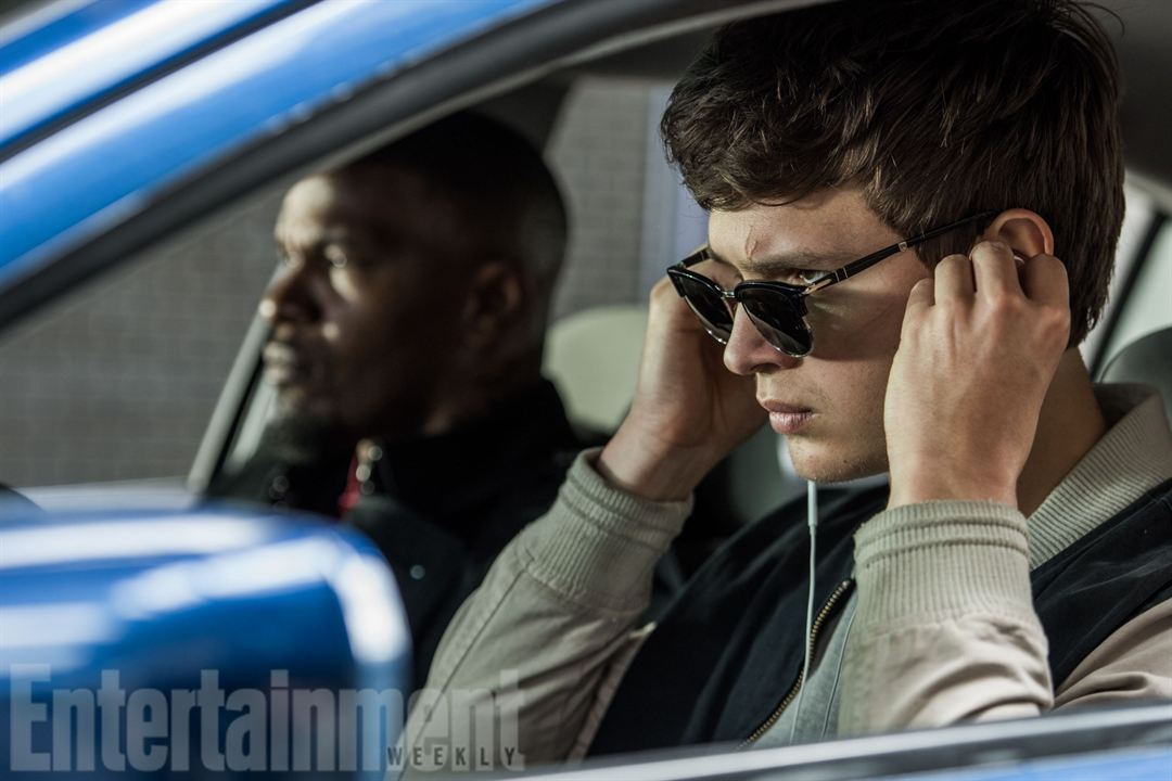 """""""Baby Driver"""": Ansel Elgort und Jamie Foxx"""