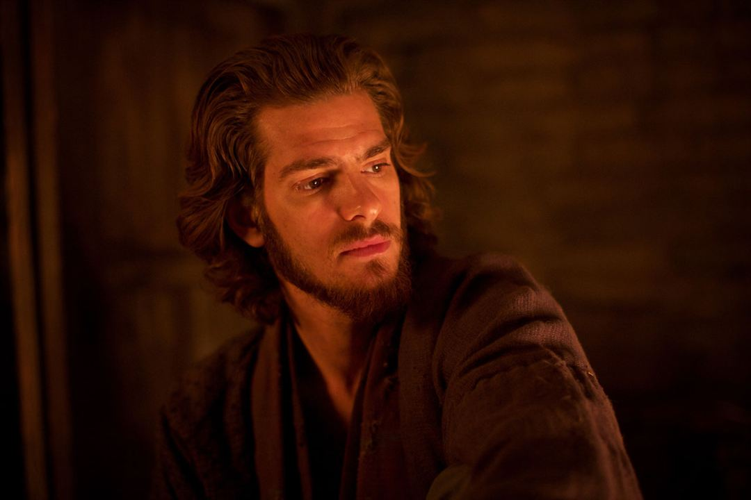 "Andrew Garfield als Father Sebastião Rodrigues in ""Silence"""